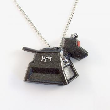 K-9 Doctor Who Companion Robot Dog Pendant and Necklace